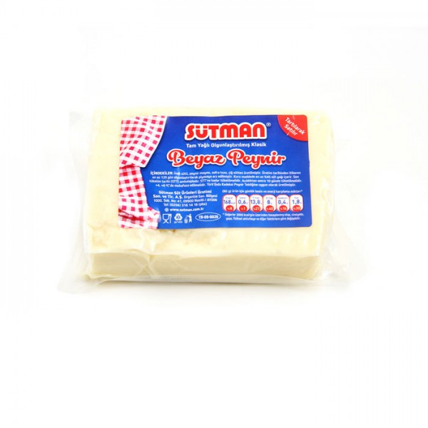 700 GRAM Tam yağlı olgunlaştırılmış klasik beyaz peynir