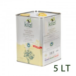 Kilizi Teneke 5 Litre Organik Zeytin Yağı (5 LT)